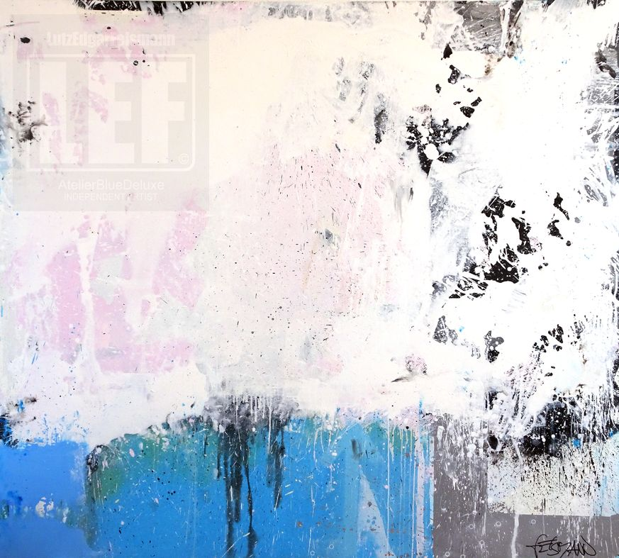 Cool Water / Acryl on Canvas / 200 cm x 180 cm